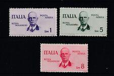 FRANCOBOLLI - 1934 REGNO P.A. ROMA MOGADISCIO L. 1 + 5 + 8 MNH Z/7543