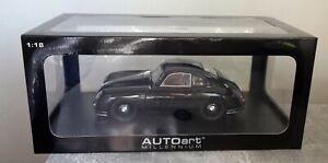 AUTOart 77946 Porsche 356 Coupe Black 1:18 neuwertig mit OVP