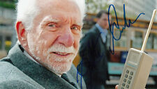 Martin Cooper inventor of the first mobile cell phone SIGNED 4x6 AUTOGRAPHED