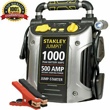 Portable Jump Starter 500 Amp 1000 Peak Battery Power Car Truck RV Jumper Box