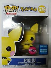 Funko Pop Pokemon #579 Pichu Flocked Limited Edition Figure Brand New