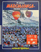 * MARCIALONGA FIEMME E FASSA 18° EDIZIONE : 28 GENNAIO 1990 *