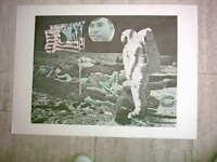 Decker: Farboffset, Dokument der Mondlandung
