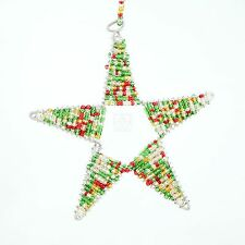 Beaded Star Christmas Ornaments | eBay