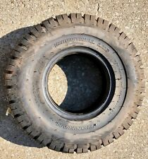 Denman Industrial Lug 10 ply Forklift Tire 6.50-10Nhs Tube Type Black Wall