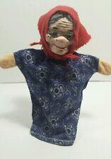 Vintage German Fairytale Handpuppet Red Riding Hood Grandma