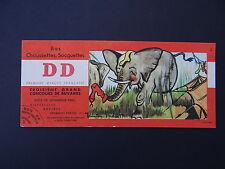BUVARD DD BAS CHAUSSETTE BAS SOCQUETTE ELEPHANT BICYCLETTE MONTRE APPAREIL PHOTO