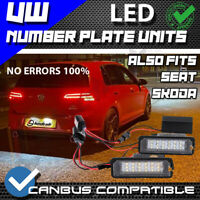 2x 18 SMD LED NUMBERPLATE WHITE UPGRADE UNITS GOLF MK5 MK6 R32 Passat Scirocco