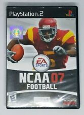 NCAA Football 07 (Sony PlayStation 2, 2006) PS2 Case and Manual Only