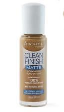 RIMMEL Clean Finish MATTE Foundation 100% poreless 440 Natural Beige