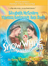 NEW DVD Faerie Tale Theatre Snow White and the Seven Dwarfs: McGovern Redgrave