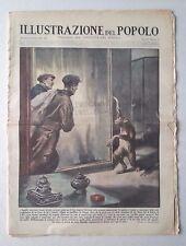 L74> L'illustrazione del Popolo n.1 anno 1931 - I banditi Americani e scimmie