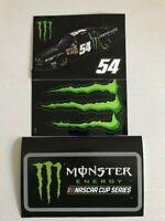 LOT of 3 *** KYLE BUSCH * #54 MONSTER ENERGY * MONSTER & MONSTER NASCAR SERIES