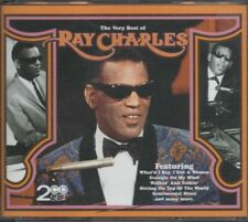 RAY CHARLES 2CD fatbox THE VERY BEST OF - 39 tracks WHAT'D I SAY CC RIDER