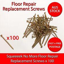 OBerry Squeak Squeeeek No More Floor Replacement Screws 100 pcs - AustraliaStock