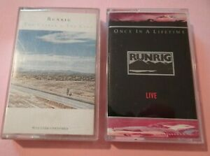 2 x RUNRIG - ONCE IN A LIFETIME LIVE - THE CUTTER & THE CLAN - Chrysalis