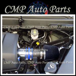BLUE BLACK 2007-2011 GMC ACADIA DENALI SL SLE SLT 3.6 3.6L V6 AIR INTAKE KIT