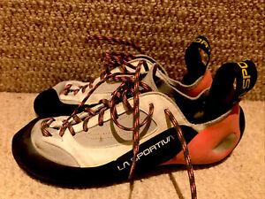 Size 41 UK 7.5 La Sportiva Womens Finale Lace Up Climbing Shoes
