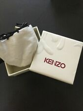 KENZO : Boite ECRIN Earring Ear Ring Box POUR Boucle Oreille clou