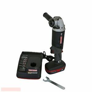 "Craftsman C3 19.2V Cordless 4 1/2"" Angle Grinder 315.FS2601B w Battery & Charger"