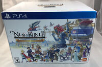 PS4 Ni No Kuni 2 II Collector's Edition New Sealed Some Box Wear