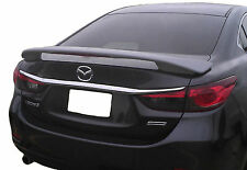 MAZDA 6 FACTORY STYLE UNPAINTED REAR WING SPOILER 2014-2018