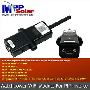 Watchpower WIFI Module for MPP SOLAR OFF-GRID inverters Android IPhone app