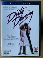 Dirty Dancing DVD 1987 Dance Classic Film Movie with Patrick Swayze