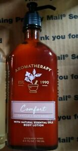 Bath & Body Works Aromatherapy COMFORT VANILLA PATCHOULI Lotion