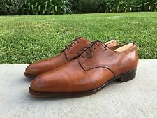 Edward Green England Burnished Pebble-Grain Oxfords for Carroll & Co, SZ 11 D