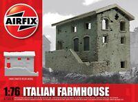 AIRFIX® 1:76 ITALIAN FARMHOUSE UNDECORATED RESIN MODEL WAR GAMING A75013V