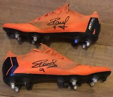 RAUL JIMENEZ SIGNED WORN TRAINING NIKE FOOTY BOOTS Wolves *WITH EXACT PROOF*