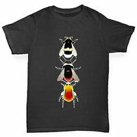 Twisted Envy Boy's Species Of Bees Cotton T-Shirt