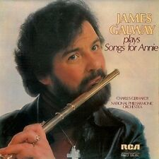 JAMES GALWAY James Galway Plays Songs For Annie LP Record RCA Red Seal 1978 EX