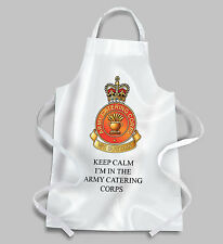 Army Catering Corps BBQ Apron KEEP CALM