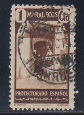 MARRUECOS (1940) USADO SPAIN - EDIFIL 200 (1 cts)