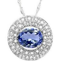 pendentif or émeraude et diamants