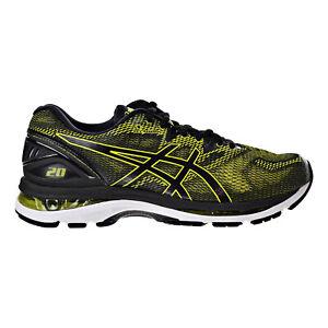 Asics Gel-Nimbus 20 Men's Running Shoes Sulphur Spring- Black- White T800N-8990