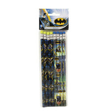 BATMAN Gotham Hero PENCILS (8) ~ Birthday Party Supplies Stationery Favors DC