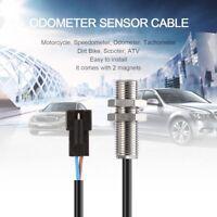 ATV Digital Odometer Sensor Cable + Magnet For Odometer Speedometer Tachometer X