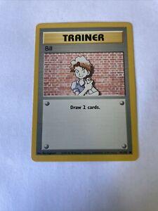 1999 Pokemon Trainer Bill Card Super Rare #PB