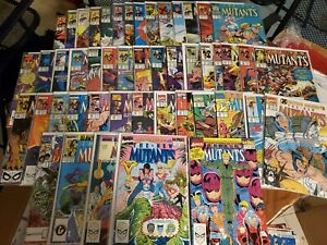 NEW MUTANTS LOT OF 48 COMICS 51-97 x-men