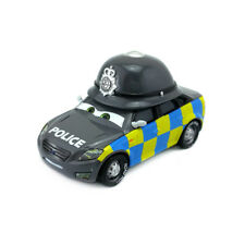 Disney Pixar Cars Mark Wheelsen Police UK Metal Toys Model Car 1:55 Loose