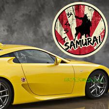 1PC The Limitied Edition JDM Circular Rising Sun Japanese Samurai Sticker Decal