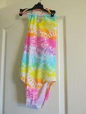 Girls  1pc Swim Bathing Suit Joe Boxer Size  12 tie dye pastels