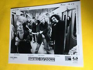 "System Of A Down Press Photo 8x10"", Serj Tankian, Daron Malakian, American 1999."