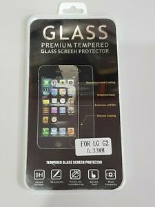 LG G2 TEMPERED GLASS SCREEN PROTECTOR x2 - ORIGINAL