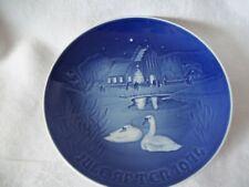 "B & G Copenhagen ""Christmas At In The Village"" Plate 1974 Made In Denmark"