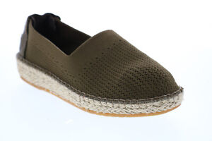 Cole Haan Cloudfeel Espadrille Womens Green Wide Mesh Flats Loafer Shoes 8