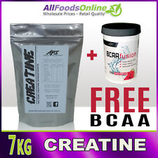 7KG PURE CREATINE MICRONISED MONOHYDRATE - UNFLAVOURED